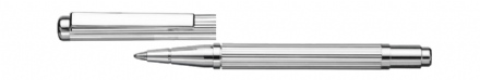 York Sterling Silver Mini Ballpoint Pen - Fine Line Sterling Silver